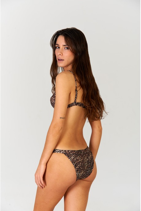 Animal Print Sporty Bikini
