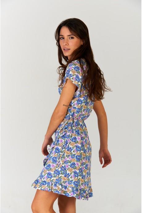 Vestido corto Positano