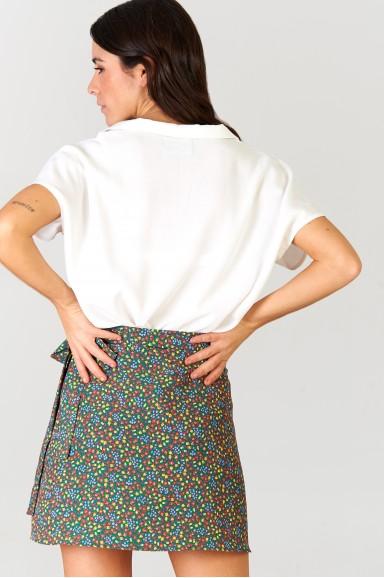 Falda corta Giardinetto