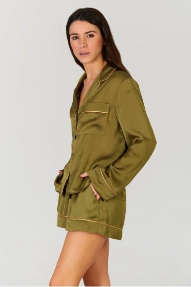 Pijama Magnolia Olive Green