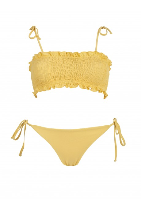 Bikini Bandeau Limoncello