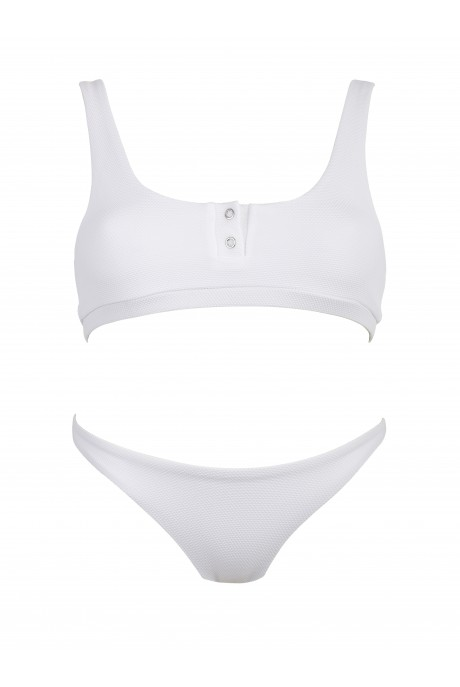 Bikini Runner Polo Blanco