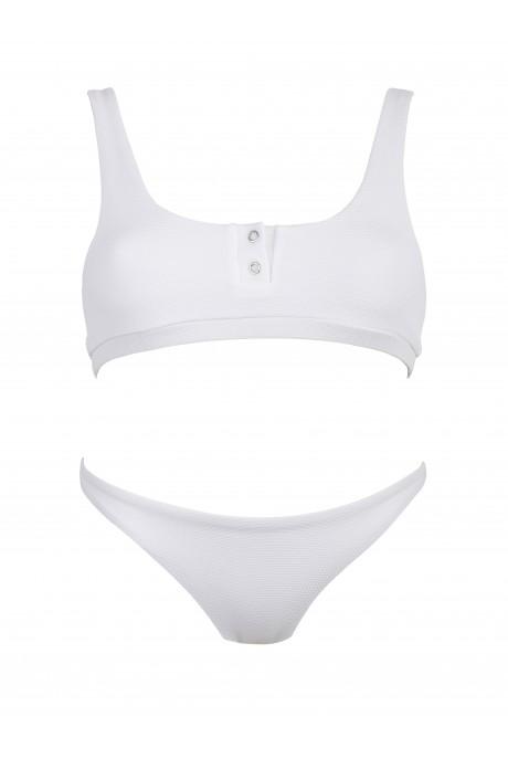 White Polo Runner Bikini