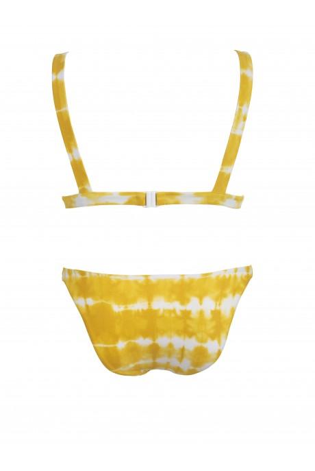 Ocher Tie Dye Touch Bikini