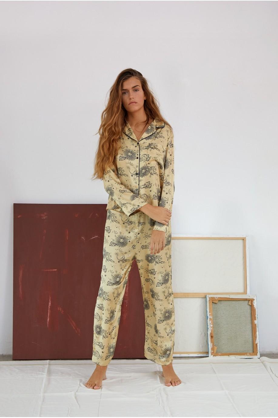 Cosmos Print Pyjama
