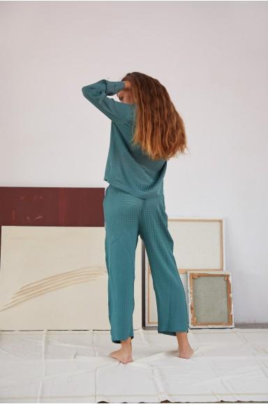 Petrol Green Venus Pyjama