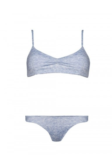 Bikini Soft Azul Jaspeado