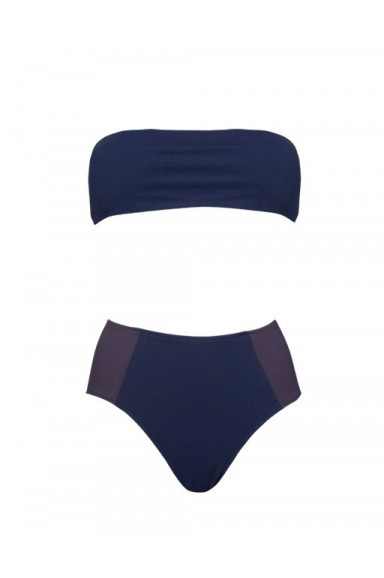 Bikini Vintage Azul Marino