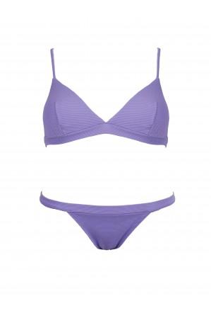 Bikini Sporty Piqué Lavanda