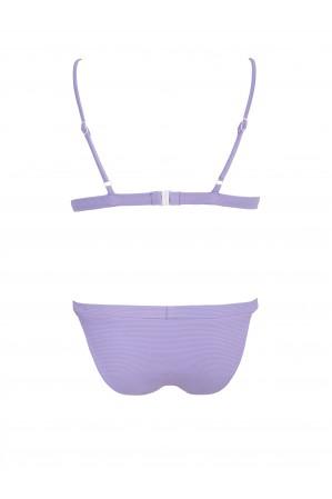 Lavender Pique Sporty Bikini