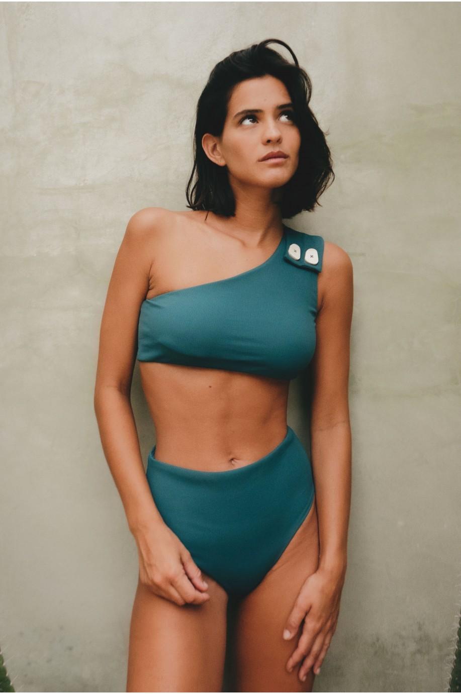 Bikini Icon Verde Petróleo