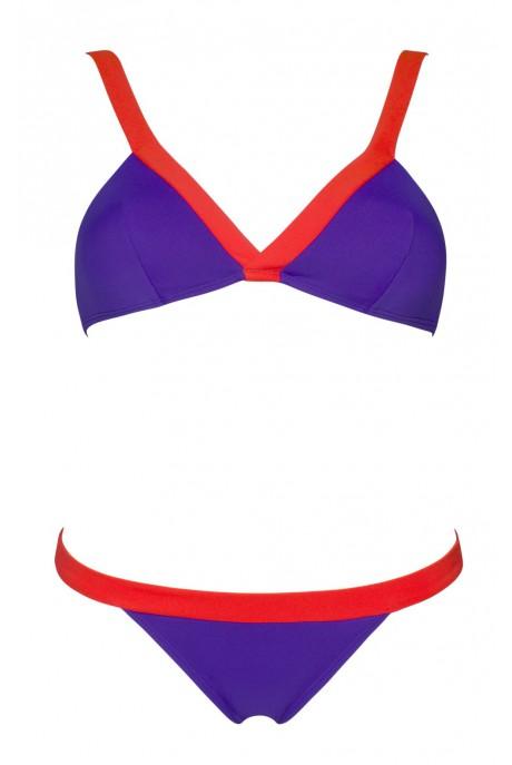 Bikini Slash Morado y Fresa