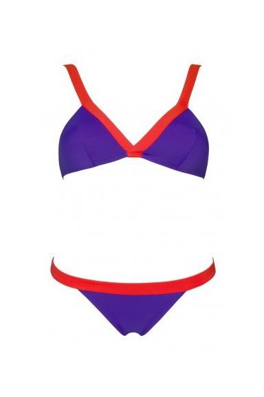 Purple and Strawberry Slash Bikini