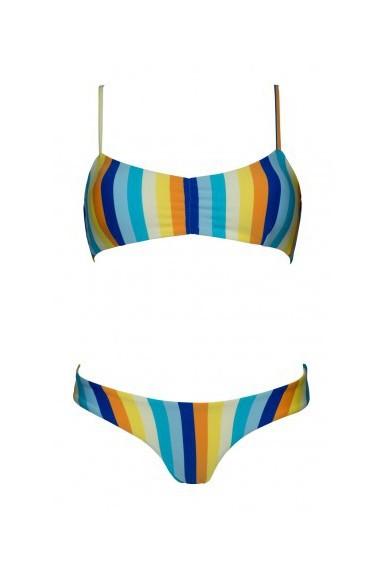 Multicolored Soft Bikini