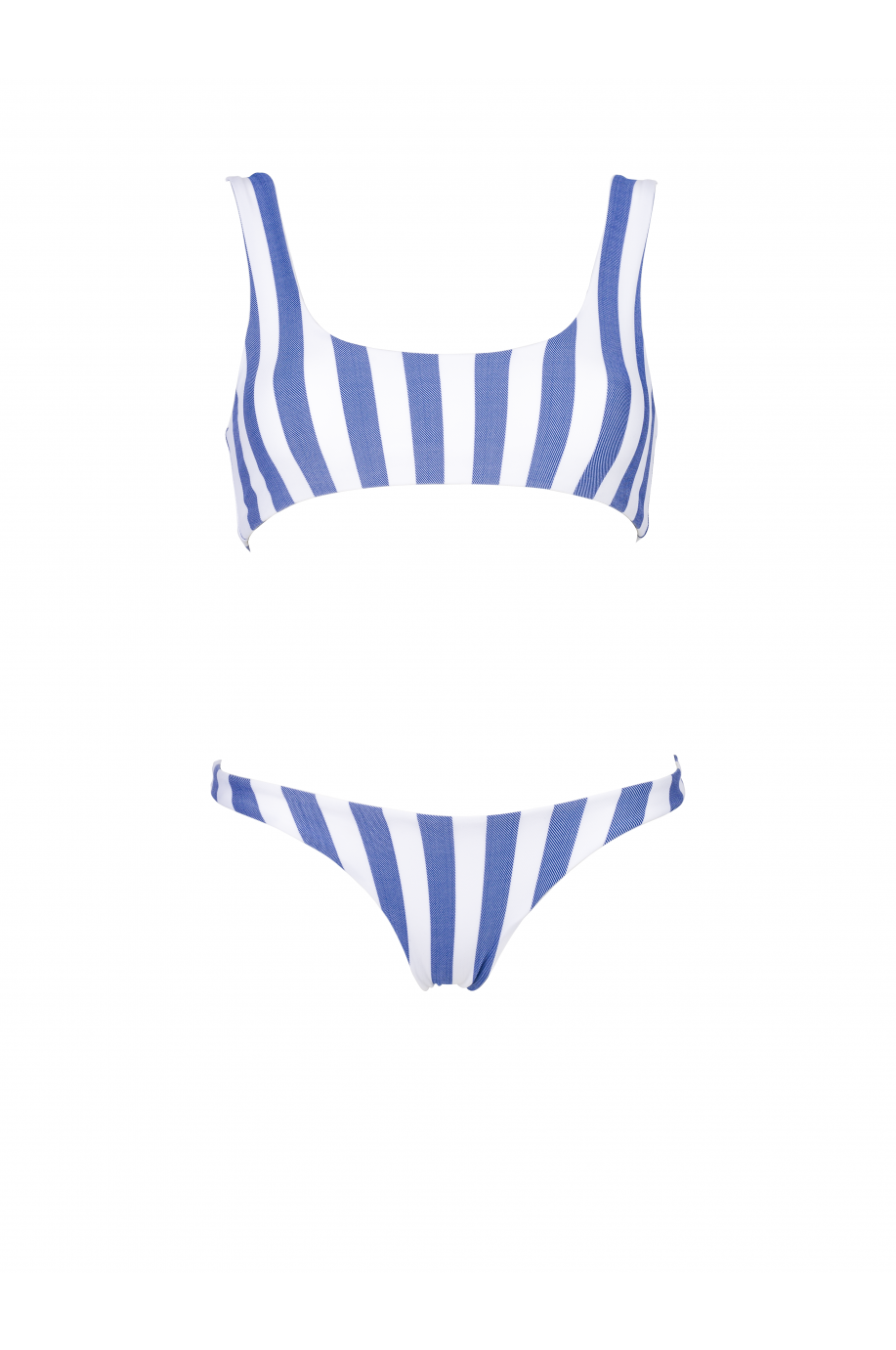 Blue Striped Runner Bikini