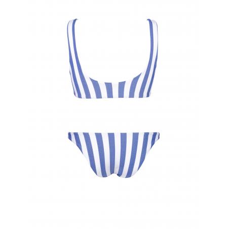 Bikini Runner Rayas Azules