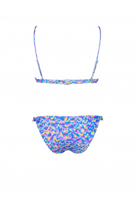 Bikini Sporty Neon Color Print