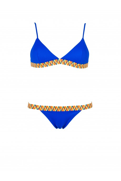Bikini Sporty Neon Azul Royal