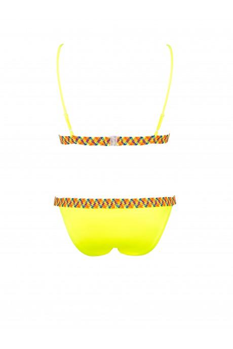 Neon Yellow Fluor Sporty Bikini
