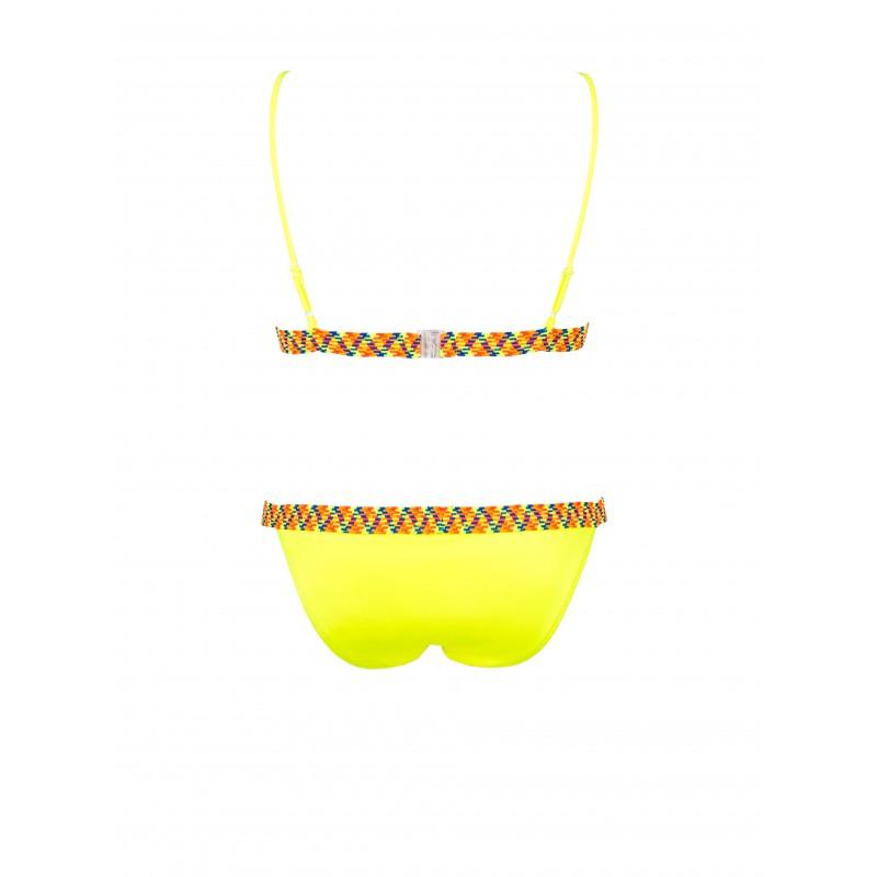 Neon Amarillo Sporty Bikini Neon Sporty Bikini Fluor FK1Tl3Jcu