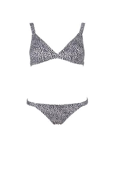 Black & White Touch Bikini