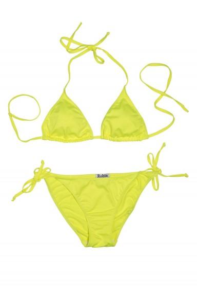 Bikini Triángulo Amarillo Flúor