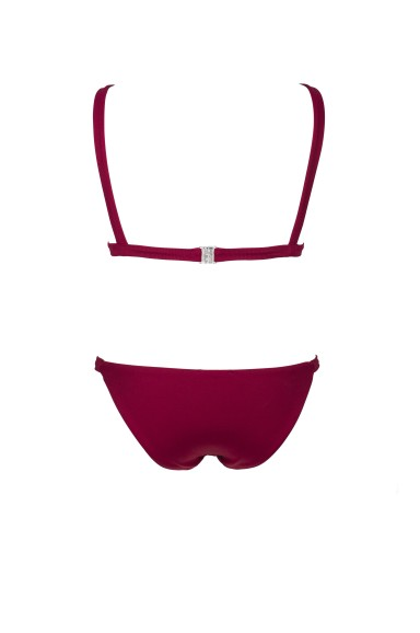 Burgundy Touch Bikini