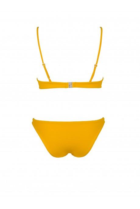 Bikini Balconette Piqué Amarillo