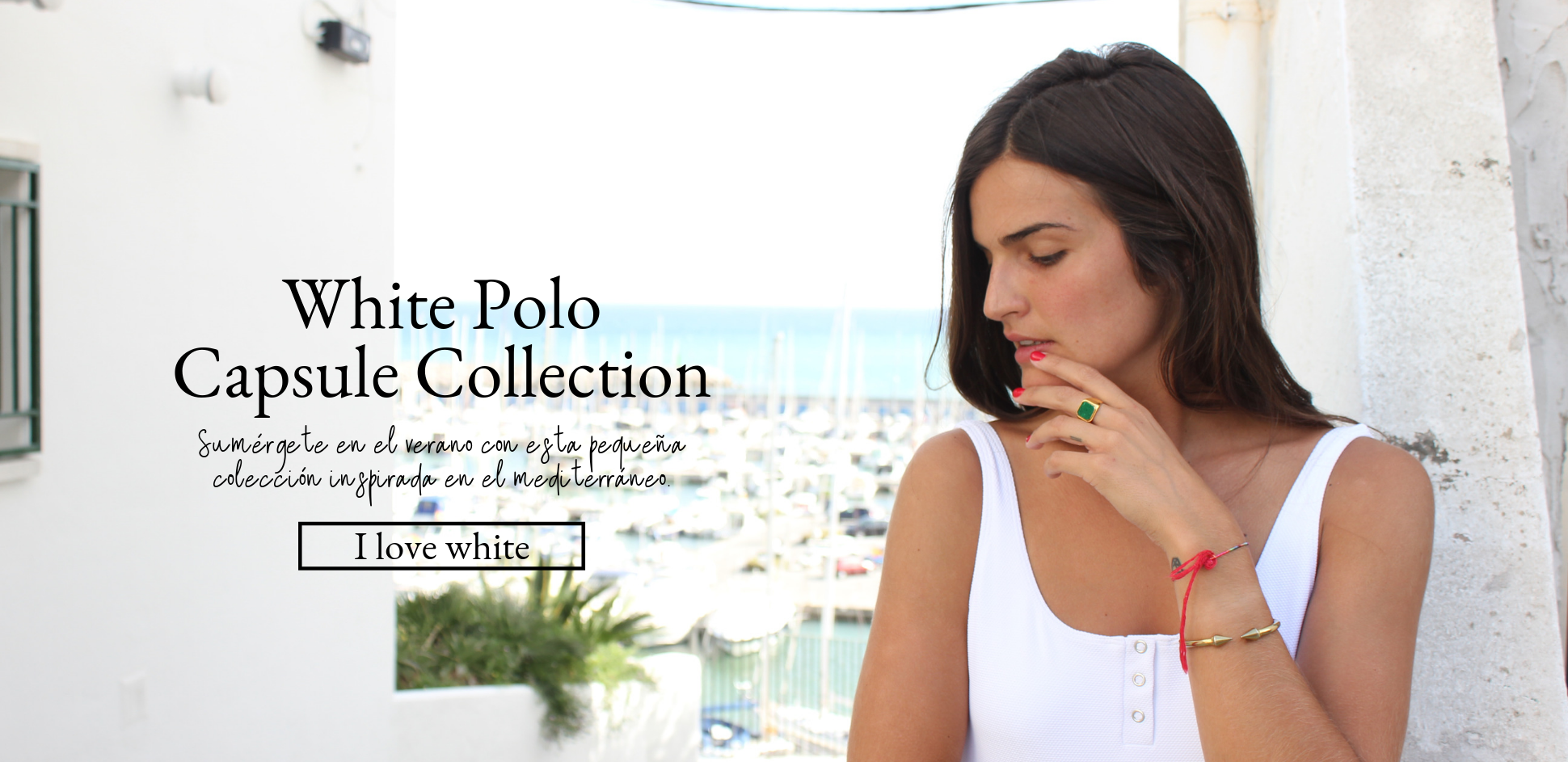 White Polo Capsule Collection